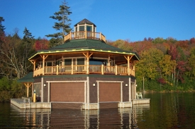 octagonal boathouse
