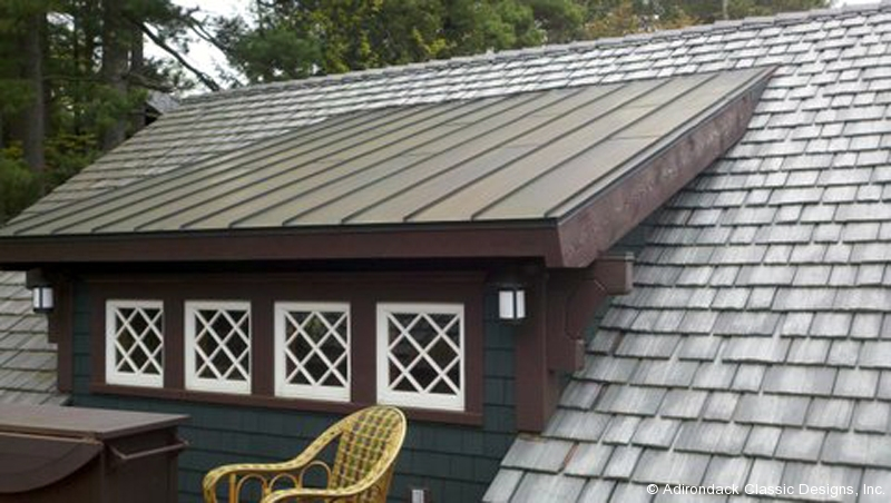 boathouse-rooftop copper trim